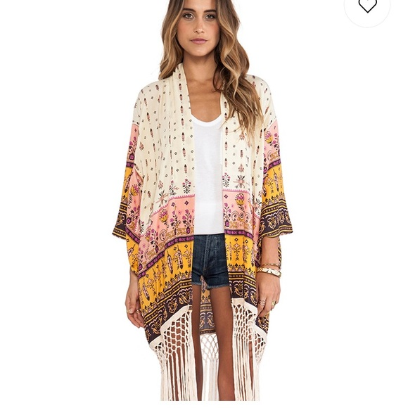 Spell & The Gypsy Collective Other - Spell Desert Wanderer Kimono in High Noon O/S